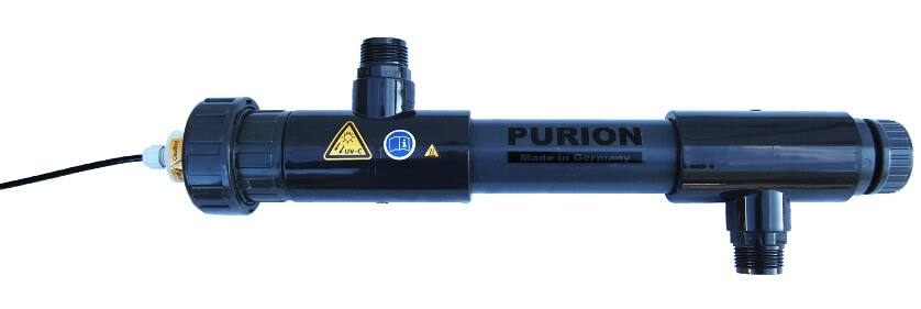 PURION 1000 P UV-C Desinfektion für Salzwasserbecken