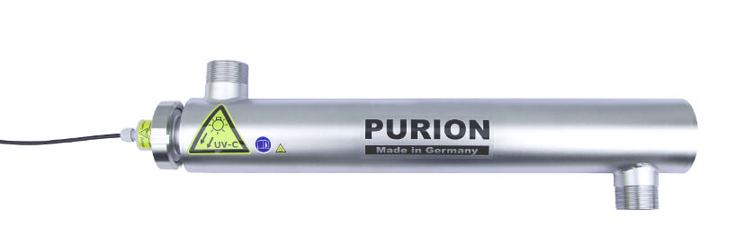 PURION 2001  UV-C Desinfektion für Swimmingpools